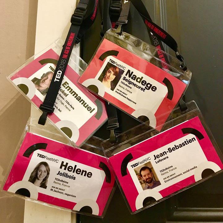 TEDFest - Badges TEDxReims